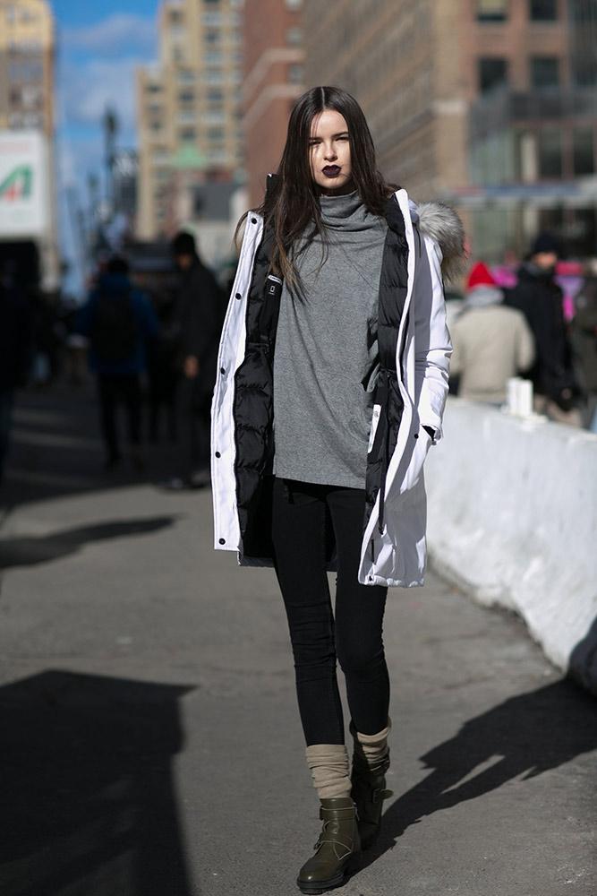 New York Fashion Week Fall 2016 Models Off Duty