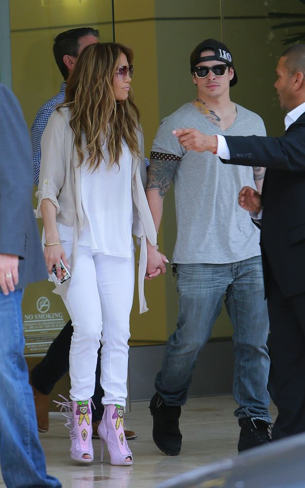 Jennifer Lopez and Caspar Smart