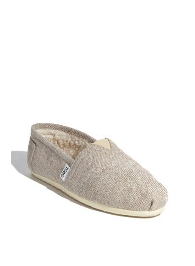 Toms Herringbone Fleece Slip-On