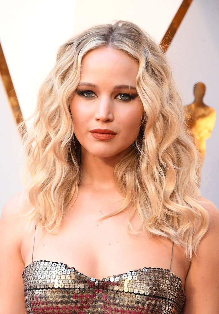Best: Jennifer Lawrence  The Best (and Worst!) Beauty Looks From the 2018 Oscars jennifer lawrence