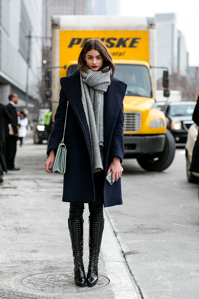 How to Wear Over-the-Knee Boots This Season - theFashionSpot