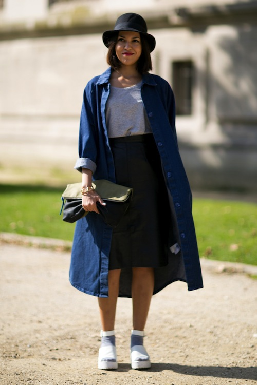 Paris Fashion Week Street Style SS14