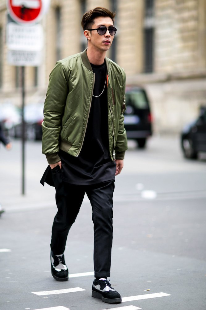 Paris Mens Fashion Week Fall 2015 Street Style