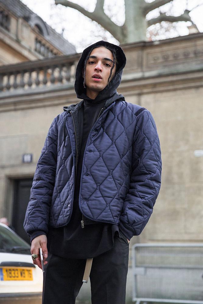 Street Style: Paris Men's Fashion Week Fall 2016 - theFashionSpot