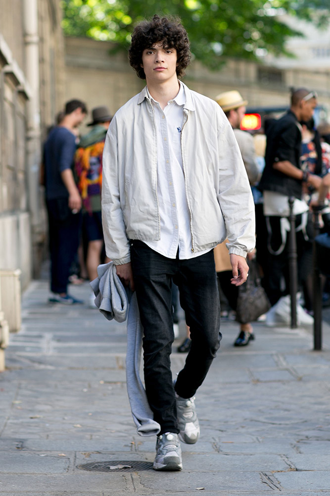 Street Style Paris Men 39 S Fashion Week Spring 2016