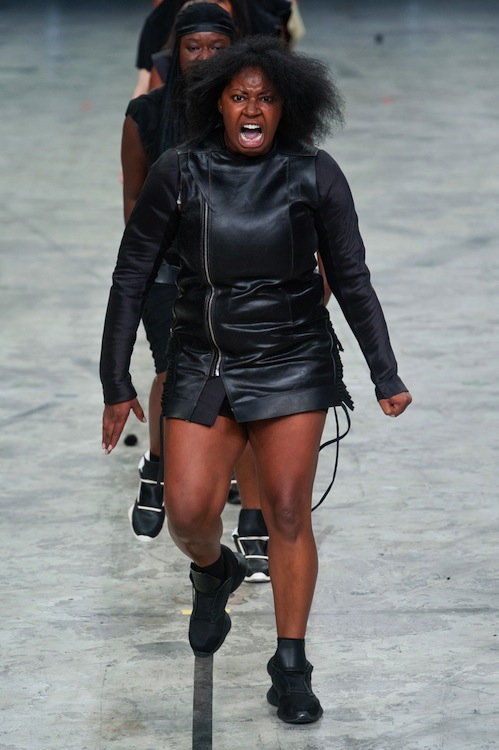 Rick Owens Makes a Provocative Statement