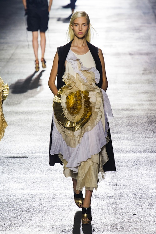 Dries van Noten Strikes Gold