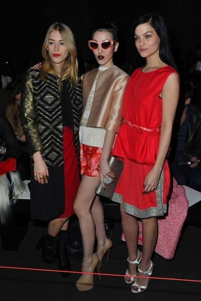 Mary Charteris, Michelle Harper and Leigh Lezark