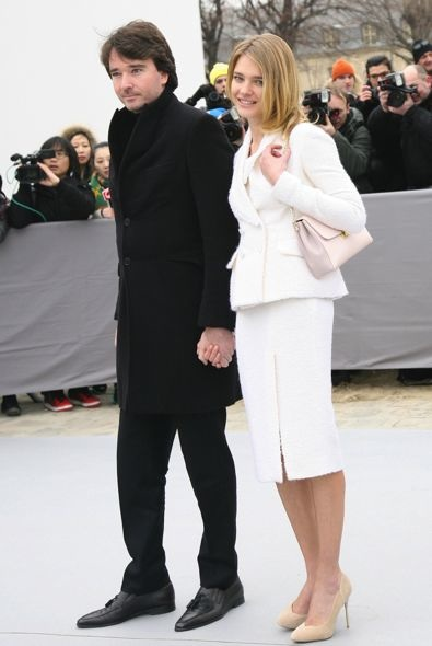 Antoine Arnault and Natalia Vodianova