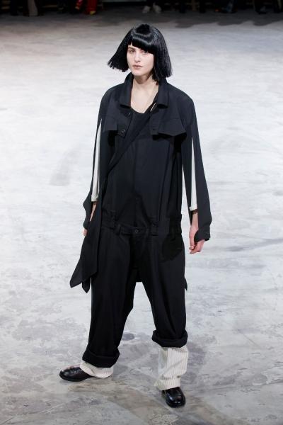 Yohji Yamamoto Fall 2013