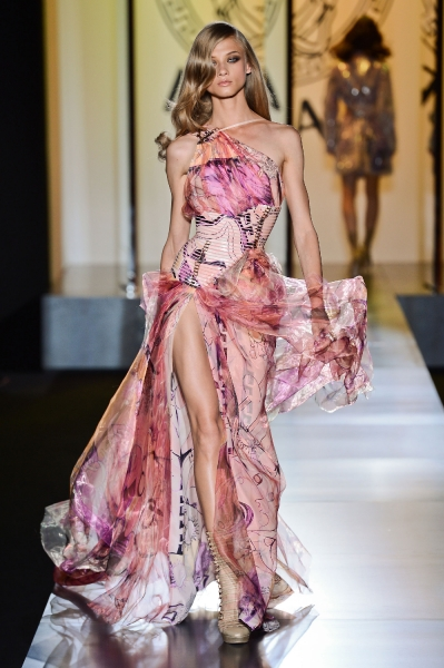 Versace Haute Couture Fall 2012