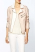RD Style Pastel Leather Moto Jacket