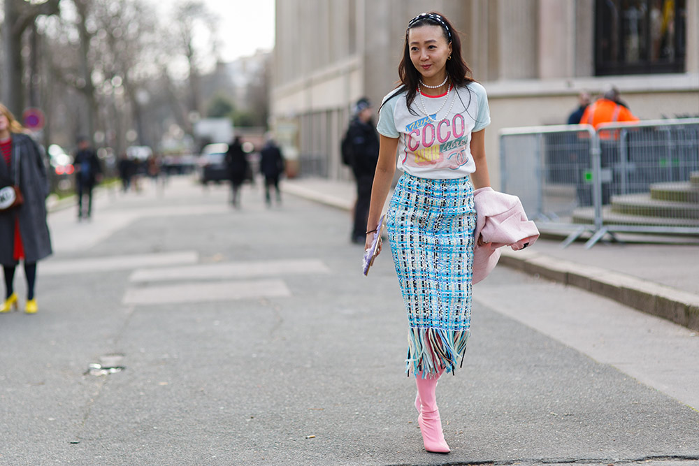 Chanel's Pastels