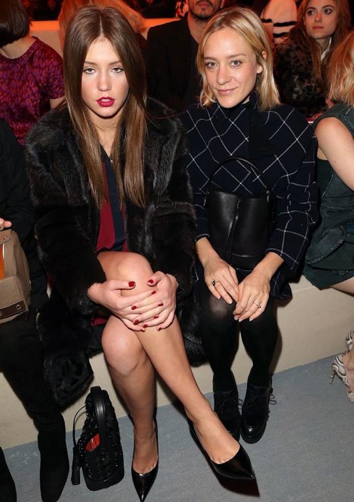Adèle Exarchopoulos and Chloë Sevigny