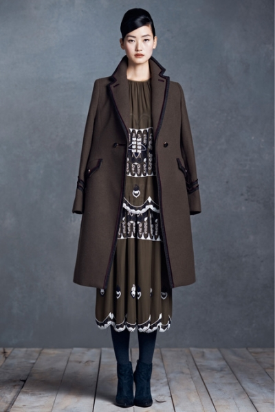 10. Tory Burch Reworks Military