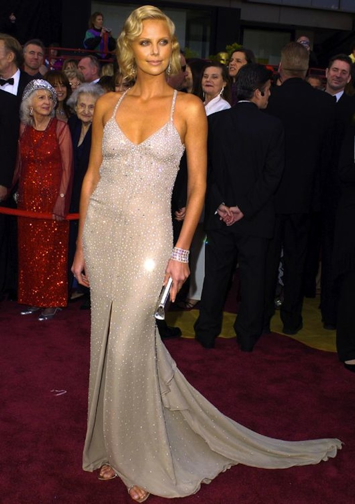2004: Charlize Theron in Gucci
