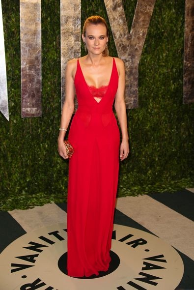 Diane Kruger at the 2012 Vanity Fair Oscar Party