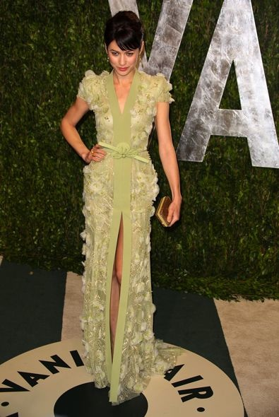 Olga Kurylenko at the 2012 Vanity Fair Oscar Party