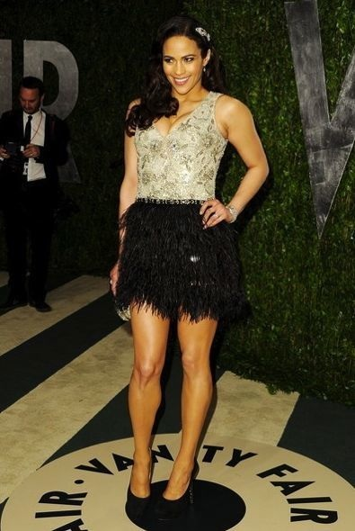 Paula Patton at the 2012 Vanity Fair Oscar Party