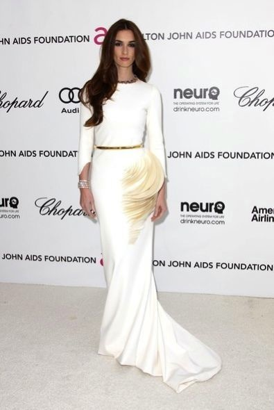 Paz Vega at the 20th Annual Elton John AIDS Foundation Academy Awards Viewing Party