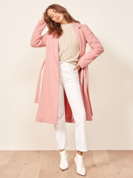 Reformation's New Coat Collection Is Here to Prepare You for Fall