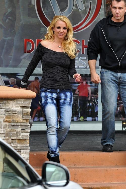 Britney's Denim Faux Pas