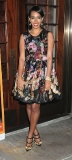 Solange Knowles Blooms in Winter Florals