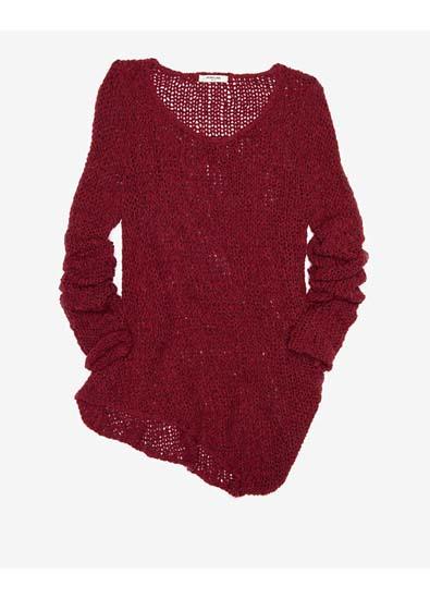 Lightweight Red Sweater