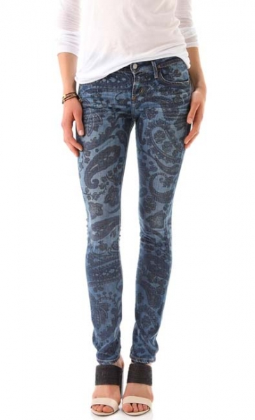 The Denim Paisley