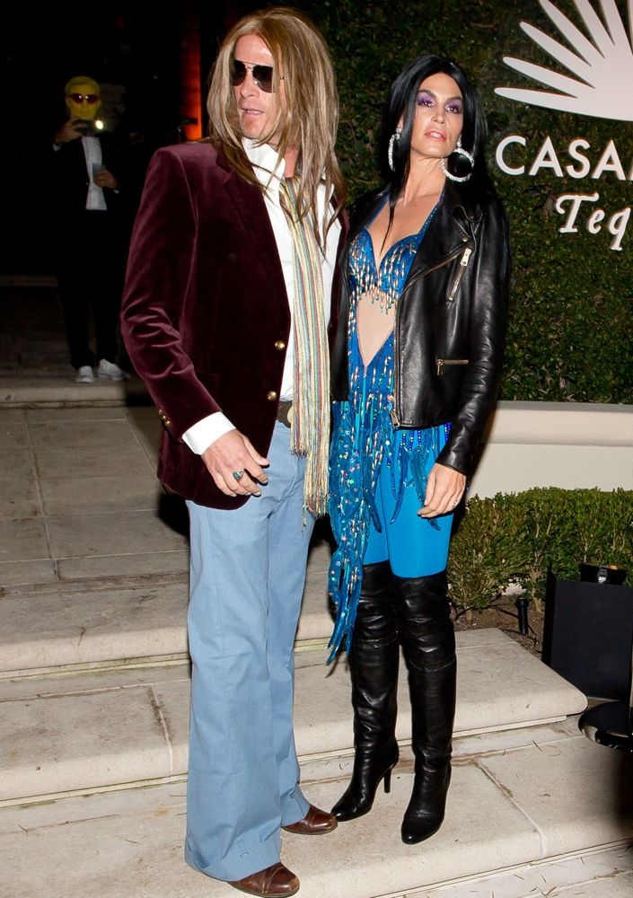 rande gerber and cindy crawford 2014 - Hollywood Couples Halloween Costumes