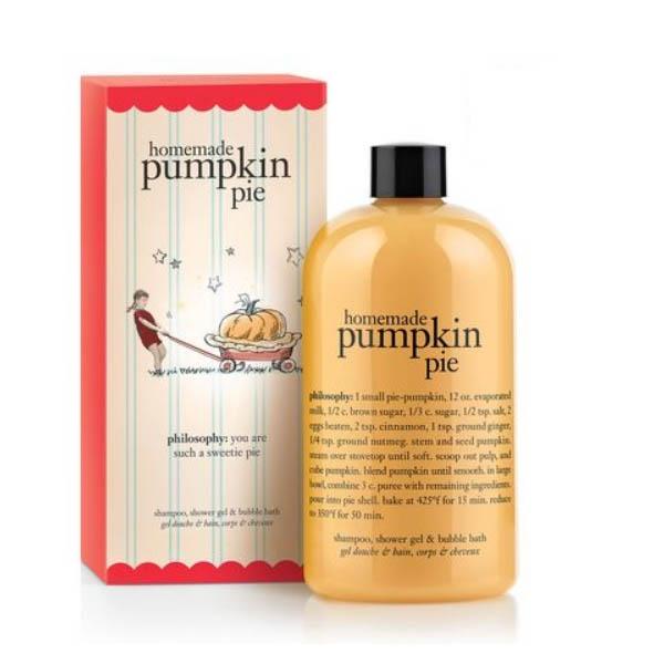 Philosophy Homemade Pumpkin Pie