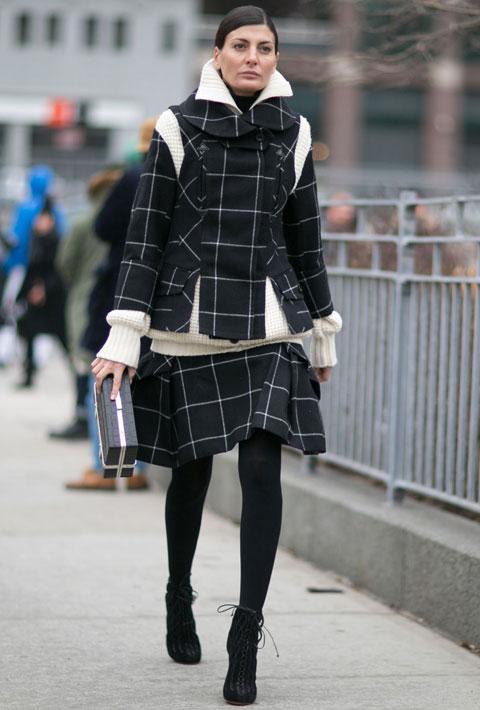 Giovanna Battaglia in New York