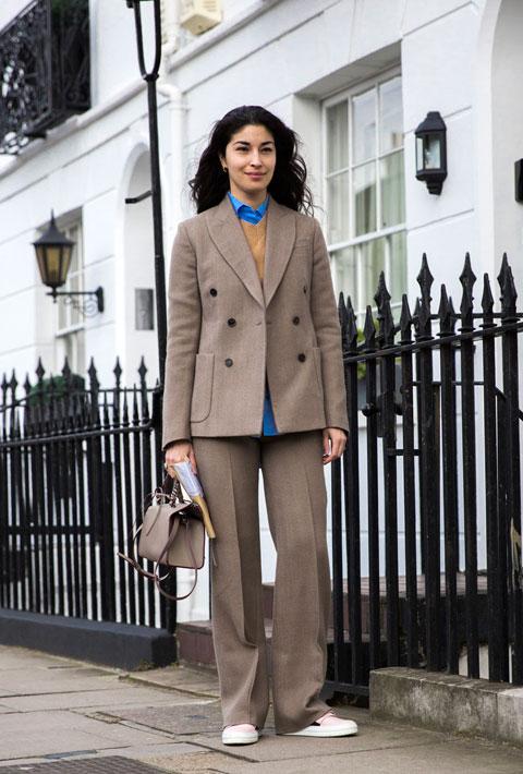 Caroline Issa in London