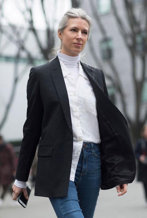 Sarah Harris in Milan