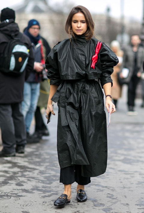 Miroslava Duma in Paris