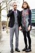 Justin O'Shea and Veronika Heilbrunner in London