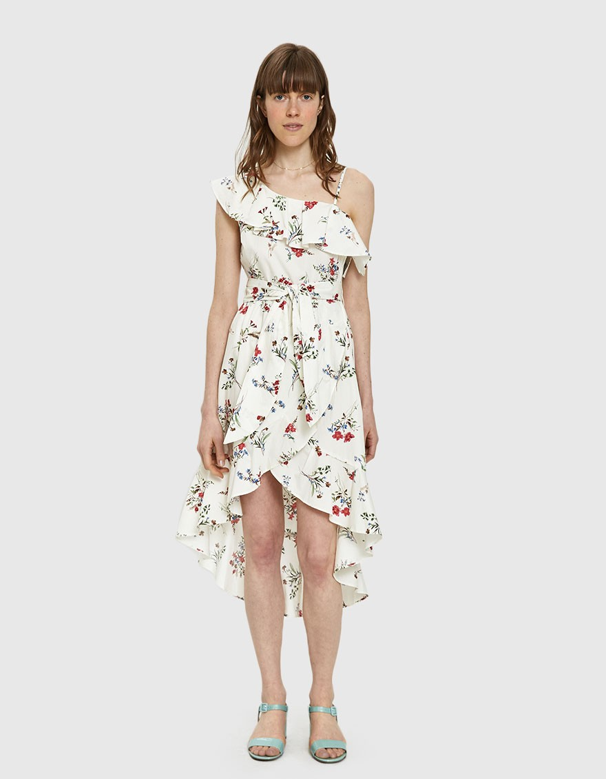 Farrow  25 Statement-Making Spring Dresses Under $100 Farrow Julia Floral High Low Dress