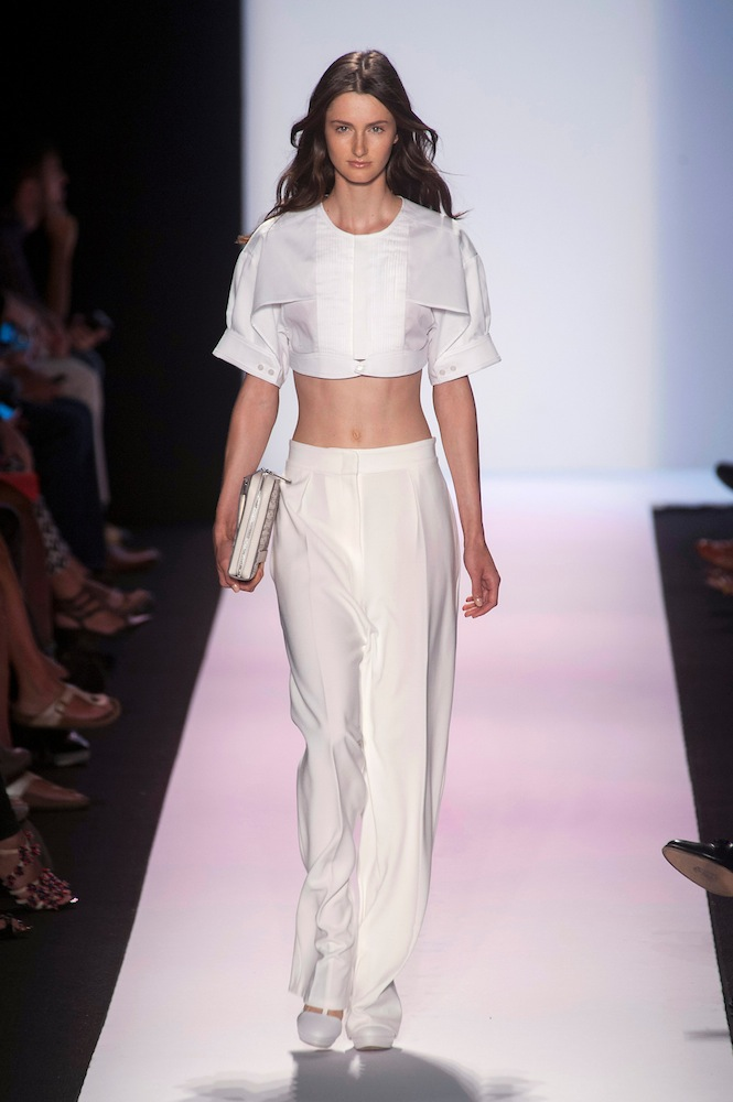 Wide Leg Trousers (at BCBG MaxAzria)