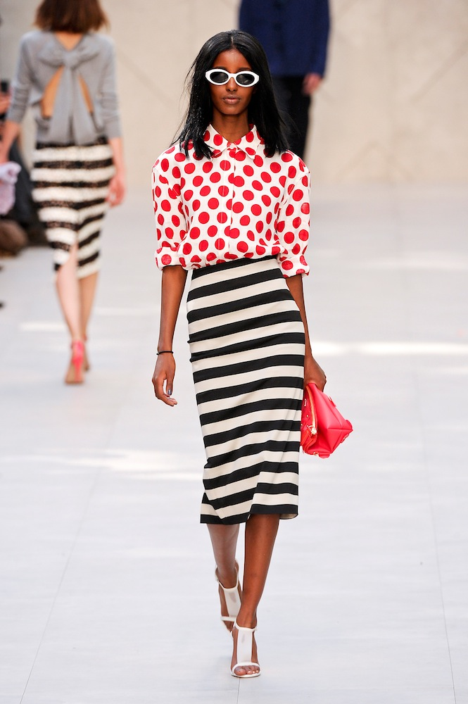 Polka Dots (at Burberry)