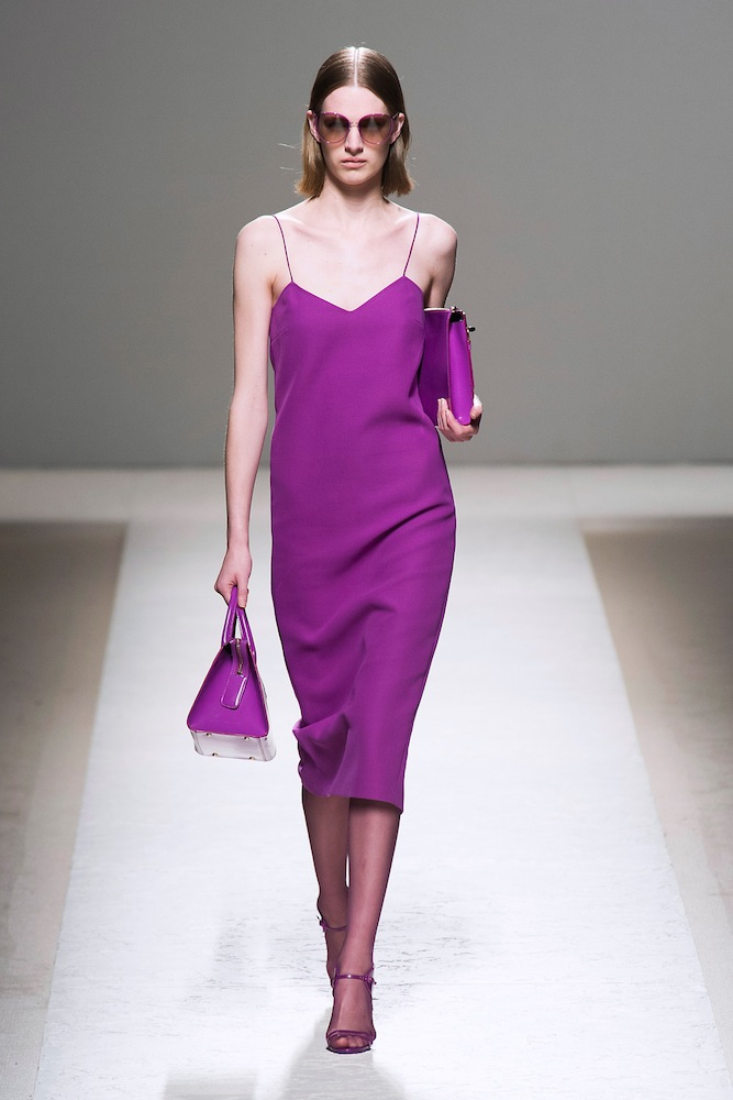 Radiant Orchid (at Max Mara)