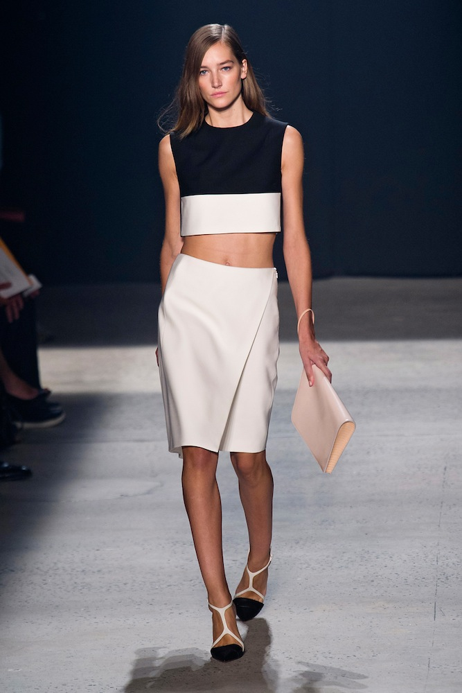 Crop Tops (at Narciso Rodriguez)