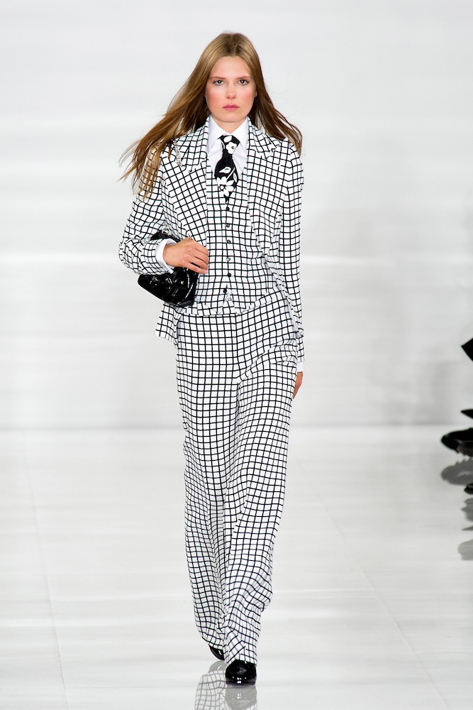 Graphic Geometric Prints (at Ralph Lauren)