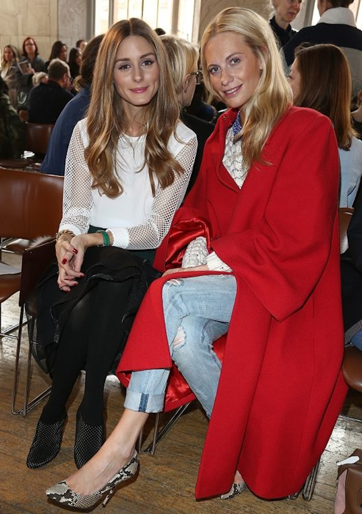 Olivia Palermo and Poppy Delevingne
