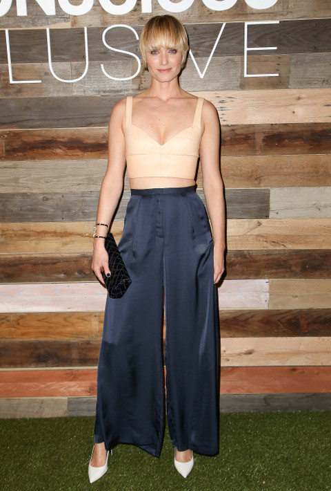 Amber Valletta at the H&M Conscious Collection Launch