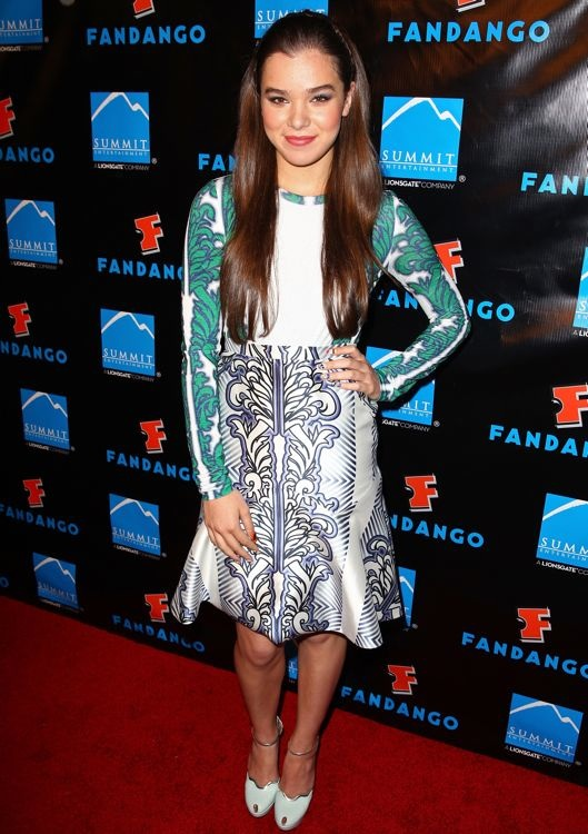 Hailee Steinfeld at the Summit Entertainment Comic-Con Press Event