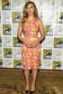 Scarlett Johansson at the Captain America: The Winter Soldier Press Line