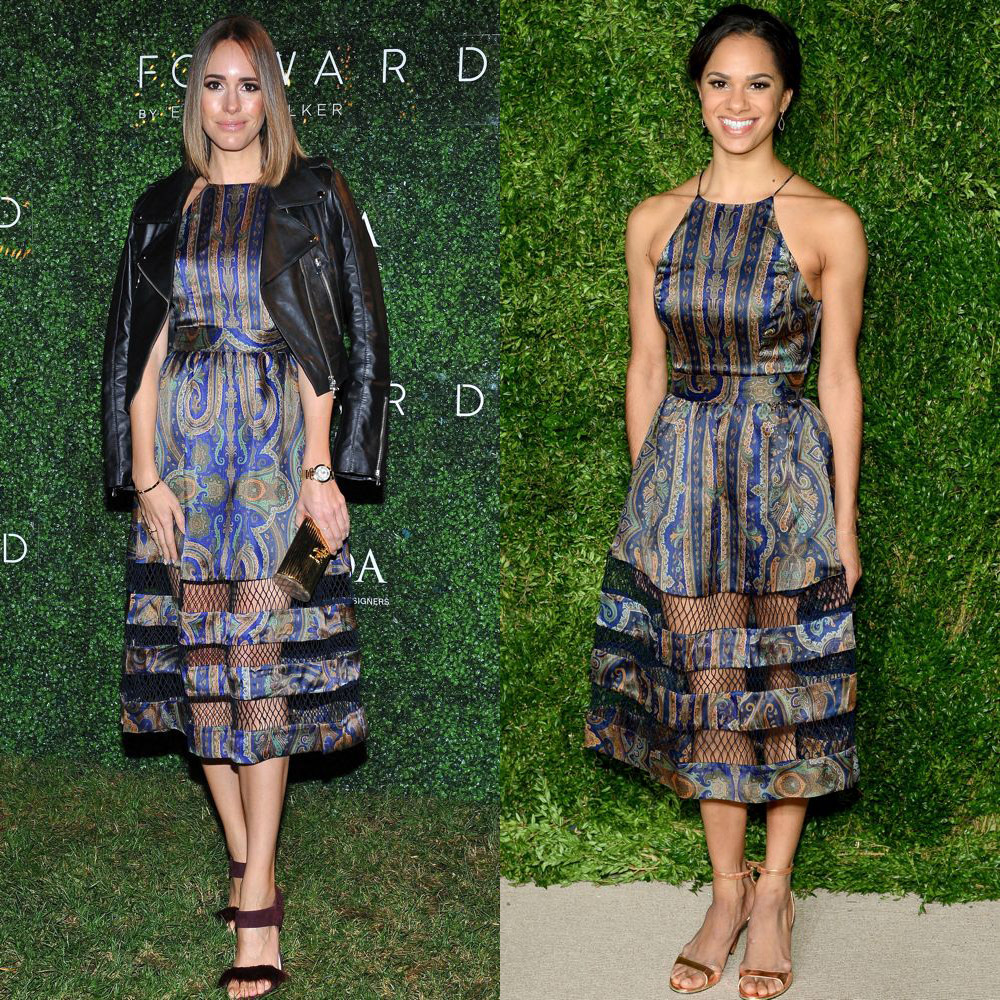 Louise Roe and Misty Copeland in Zimmermann