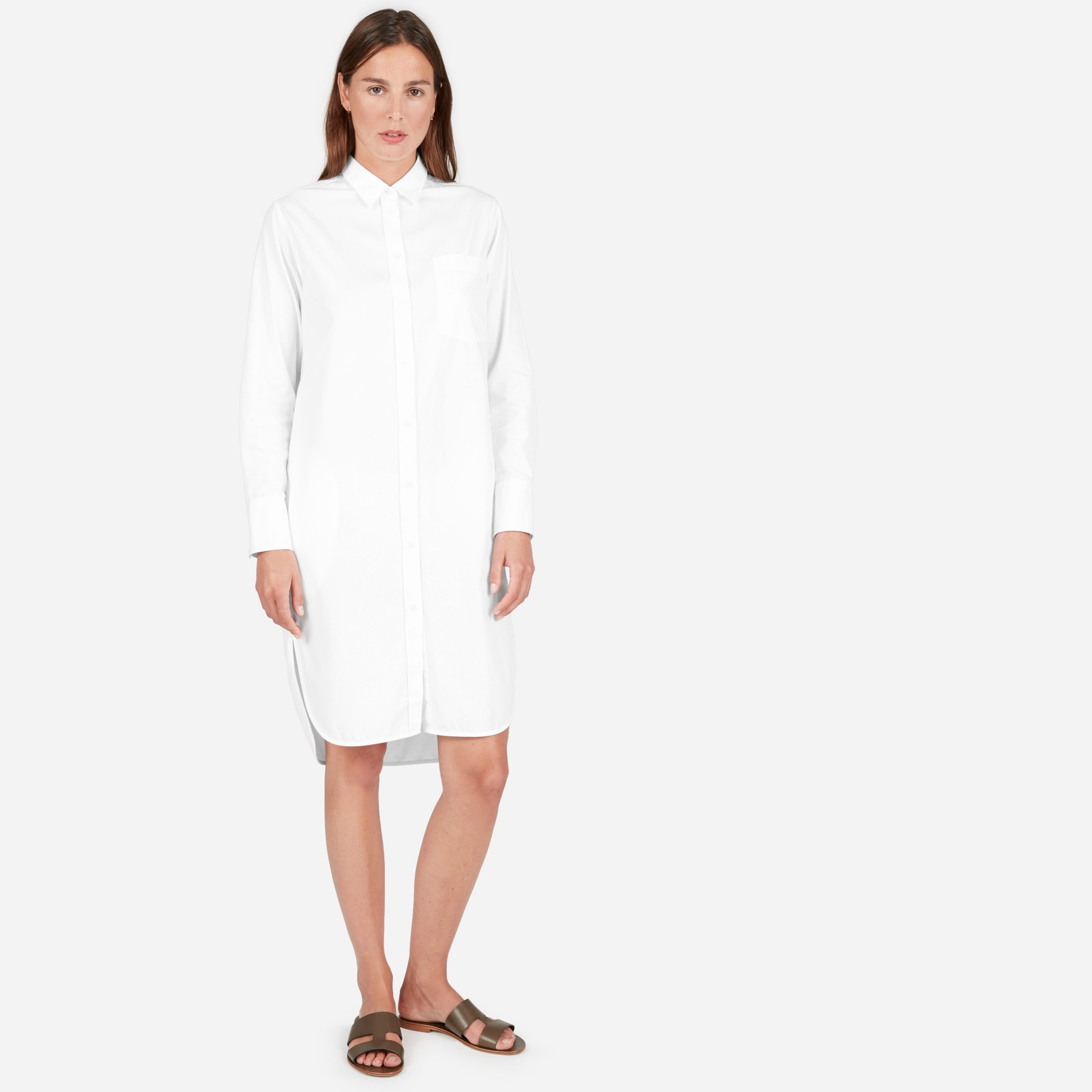 The Plain Shirtdress
