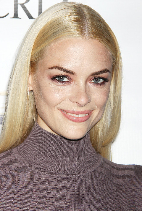 Jaime King's Burgundy Summer Smoky Eye