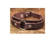 Leather 'Tham Luang Forest' Bracelet